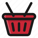 basket, commerce, e, shop, shopping icon