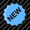 banner, commerce, e, new, sticker icon