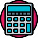 calculator, e commerce, e-commerce, ecommerce, shopping icon