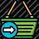 basket, e commerce, e-commerce, ecommerce, go, shopping, to