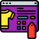 bookmark, e commerce, e-commerce, ecommerce, shopping icon