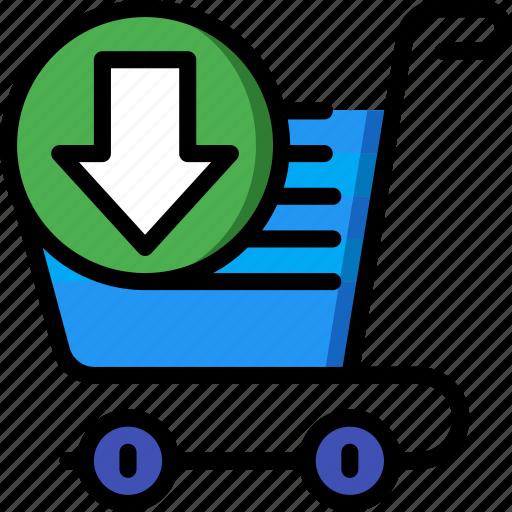 e commerce, e-commerce, ecommerce, shopping, trolly icon