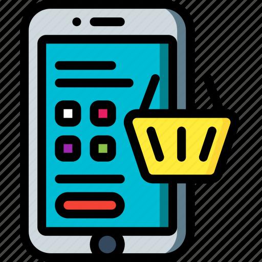 basket, e commerce, e-commerce, ecommerce, shopping icon