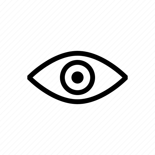 eye, look, privacy, view icon