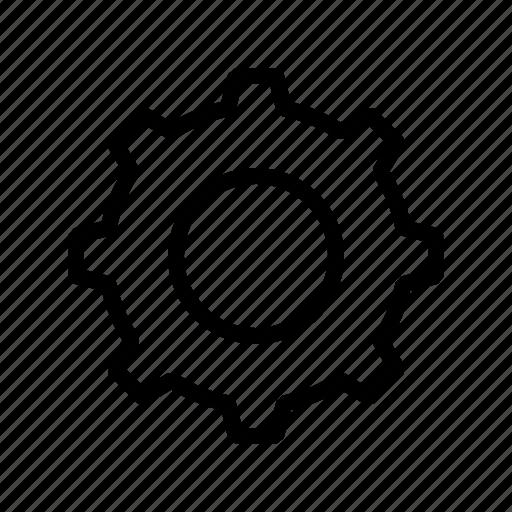 service, settings, tech icon