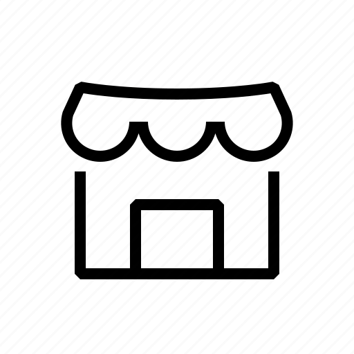 house, market, shop icon