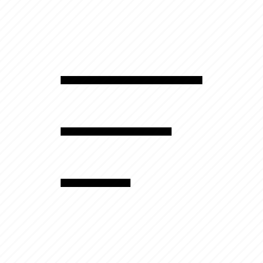 descent, filter, sort icon