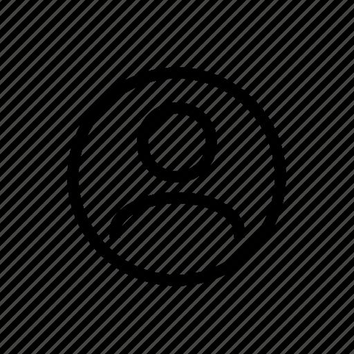 Profile, account, user icon