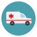 ambulance, bus, emergency, healthcare, hospital, medical, medicine icon