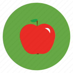 apple, eat, food, fruit, health, healthy, meal icon