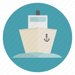 big, boat, cruise, marine, ocean, sailing, ship icon