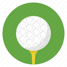 ball, game, gamepad, golf, golf club, sports, stand icon