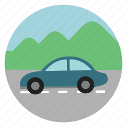 automobile, car, road, small, small car, transport, vehicle icon