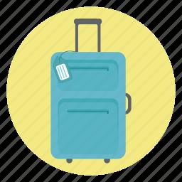 bag, briefcase, case, luggage, portfolio, suitcase, travel icon