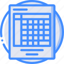 e commerce, e-commerce, ecommerce, shopping, spreadsheet icon