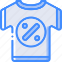discount, e commerce, e-commerce, ecommerce, shirt, shopping icon