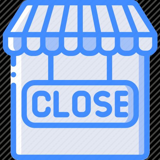closed, e commerce, e-commerce, ecommerce, shop, shopping icon