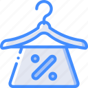 discount, e commerce, e-commerce, ecommerce, hanger, shopping icon