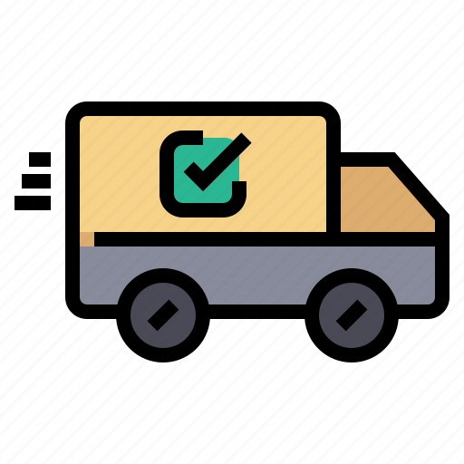 cart, delivery, ecommerce, online, shipping, shopping, truck icon