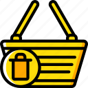 basket, delete, e commerce, e-commerce, ecommerce, shopping icon