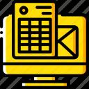 e commerce, e-commerce, ecommerce, email, invoice, shopping icon