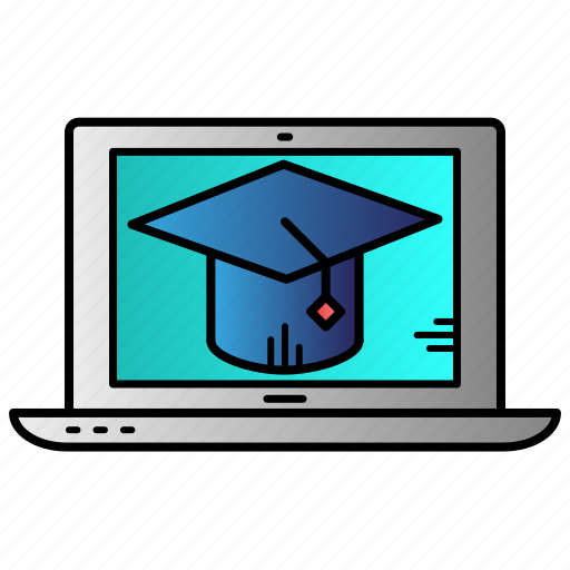 course, e-learning, education, online, online course icon
