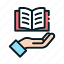 book, education, learning, online, reading icon