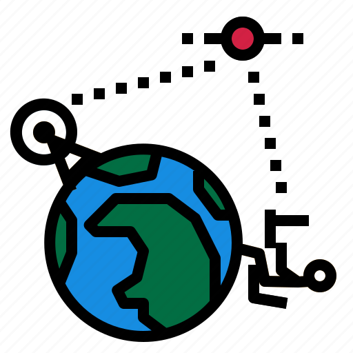 global, learning, online icon