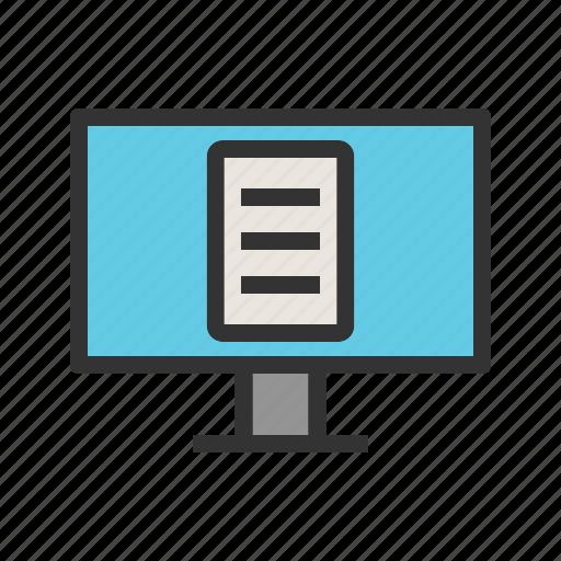 laptop, learning, lecture, online, teacher, web, webinar icon