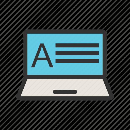 education, exam, grade, online, result, score, test icon