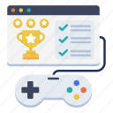 achievement, challenge, e-learning, game, gamification, gaming, joystick