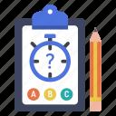 assessment, e-learning, education, exam, quiz, test, timer