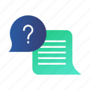 answer, ask, e-learning, faq, frequently asked questions, qa, question icon