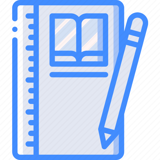 course, distance learning, e learning, education, notebook, online icon