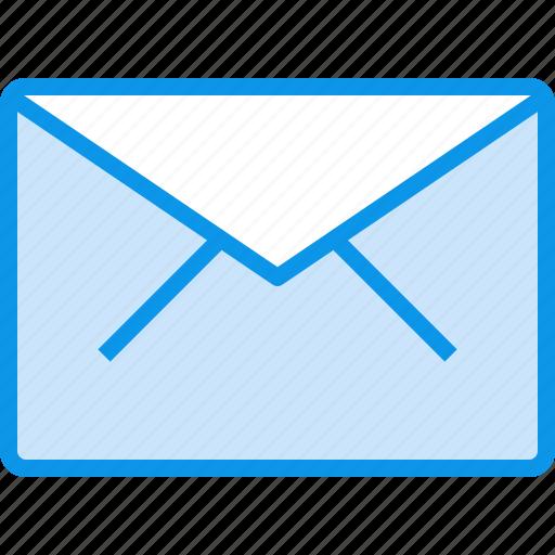 communication, e, letter, mail, message icon