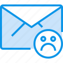 bad, communication, e, letter, mail, message icon