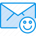 communication, e, good, letter, mail, message icon