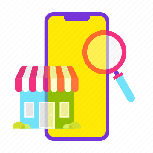 find, mobile shop, online shopping, sale, search, shop, shopping icon