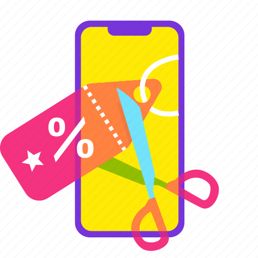 discount, ecommerce, offer, online shopping, sale, shopping, smartphone icon