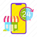 cart, mobile shop, offer, online shopping, sale, service, shop icon