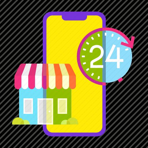 cart, mobile shop, offer, online shopping, sale, service, shop icon