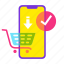 buy, cart, iphone, mobile shop, online shopping, sale, shopping icon