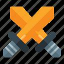 fortnite, pubg, swords icon
