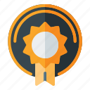 award, badge, game icon