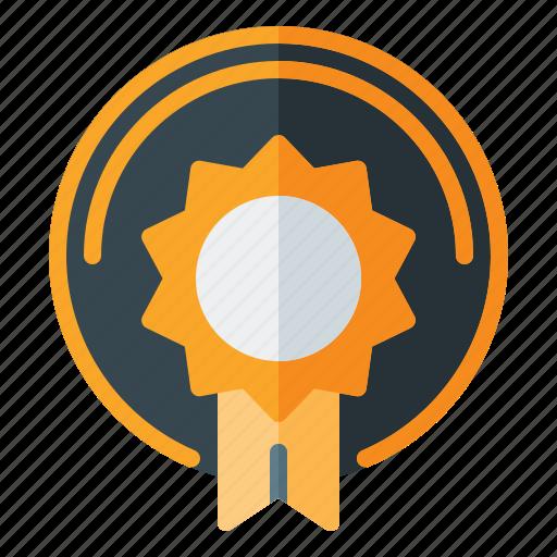 award, badge, game icon