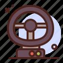 wheel, gaming, internet, entertain