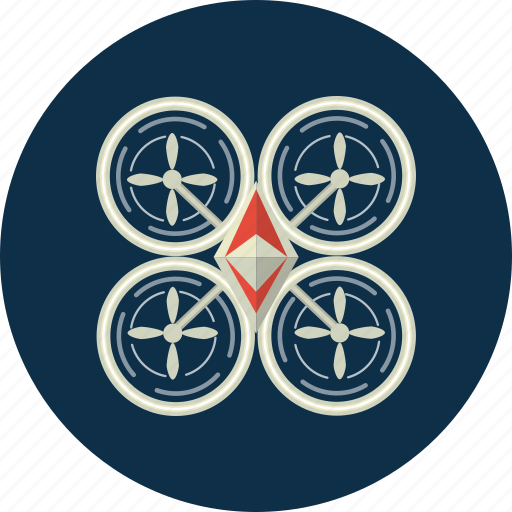 aircraft, drone, fly icon