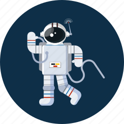 astronaut, space, spaceman icon