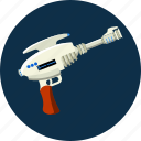 blaster, space, weapon icon