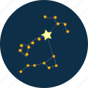 constellation, dipper, space icon